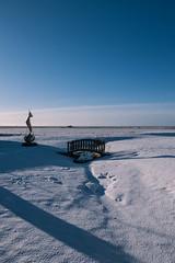 1677 (cristianachivarria) Tags: bridge snow window nature landscape iceland sunnyday skogar projectweather
