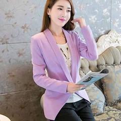 เสื้อสูท แฟชั่นเกาหลีผู้หญิงทำงานออฟฟิศแขนยาวสวยรุ่นใหม่สไตล์แบรนด์ นำเข้า - พร้อมส่งTJ7513 ราคา1250 เรียบหรูสำหรับสาวทำงานออฟฟิสเทรนด์แฟชั่นเกาหลีรุ่นใหม่ จะใส่กับเสื้อเชิ้ตในวันทำงานหรือใส่แบบลำลองคู่กับเสื้อยืดกางเกงยีนส์ หรือใส่เป็นเสื้อคลุมก็ดูมีสไตล