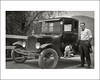 Vehicle Collection (6541) - Ford (Steve Given) Tags: 1920s dog pet man ford automobile familyhistory familycar socialhistory