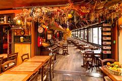 French restaurant (jmlpyt) Tags: house france history tourism beauty horizontal architecture europe indoors normandy idyllic etretat scenics lifestyles tranquilscene urbanscene traveldestinations famousplace buildingexterior