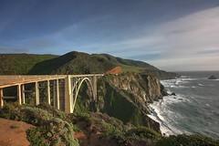 Highway 1 (KC Mike Day) Tags: ocean california bridge sea concrete coast arch open pacific bigsur cliffs pch highway1 views vista coastline bixby bixbybridge reinforced pacificcoasthighway spandrel