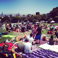 It has begun #sfpride #delorespark #gay #fuckyeah (doitliketyler) Tags: gay delorespark fuckyeah sfpride uploaded:by=flickstagram instagram:venue=3000292 instagram:venuename=dolorespark instagram:photo=4891691929226146433863553