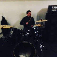 Some role reversal going on at band practice tonight... (onlyfromtheashes) Tags: from ashes the fta