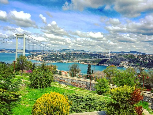 #tbt #Istanbul #turkey #bosforus #bosphorus #bosphorusbridge