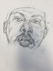 phife dawg drawing pencil1s (storm1sky) Tags: art pencil ink faces drawing