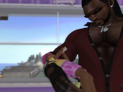 Bottle feeding my daughter (MDraxula) Tags: baby castle club mall erotic display avatar father nursery models mother pregnant story parent secondlife breeding shops rockingchair obedience stores ebony interracial vendors bottlefeed maledom blackmaster
