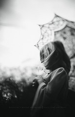 Creativity feeds my soul!! (privizzinis passion photography) Tags: people blackandwhite texture girl monochrome childhood umbrella hair children outdoors movement child emotion wind outdoor grain emotive freelensed