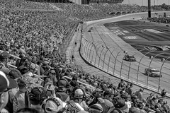Atlanta Motor Speedway (*Ken Lane*) Tags: people blackandwhite bw usa monochrome grass racetrack fence georgia geotagged blackwhite cool unitedstates awesome caps hats seats nascar fans bleachers hampton blacknwhite ams crowds bnw infield scoreboard finishline grandstand sunnyday startline racecars nascarrace baw monochromeblackandwhite blackwhitephoto startfinishline atlantamotorspeedway racefans nascarracing geo:lat=3338651682 geo:lon=8431836382 cloverranchmobilehomepark