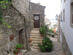 Monsanto (2) (VERUSHKA4) Tags: street door roof summer plants house mountain flower detail green portugal window lamp stone wall stairs montagne canon flora iron europe day village view metallic album object perspective july fave pot portuguese vue verdure monsanto farole hccity