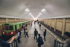 Pyongyang Metro (reubenteo) Tags: city democracy scenery war communist communism kimjongil socialist metropolis socialism northkorea pyongyang dprk reunification kimilsung kimjongun