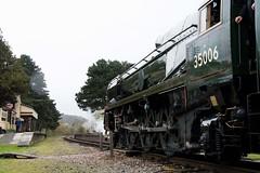 35006 Gotherington (Dan Wigg.) Tags: train navy railway gloucestershire steam winchcombe po oriental merchant warwickshire peninsular gotherington 35006 gwsr