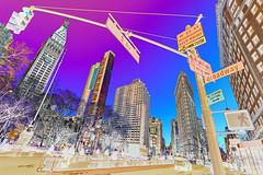 psychedelic big apple (thomas.reissnecker) Tags: nyc newyork popart manhatten bigapple flatiron