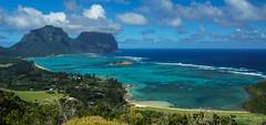 View from Kim's Lookout, Lord Howe Is (NettyA) Tags: clouds australia nsw day4 unescoworldheritage lordhoweisland thelagoon 2016 lhi kimslookout mtgower mtlidgbird oldsettlementbeach malabarhillwalk lordhoweforclimate