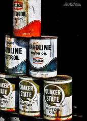 Oil (f4fwildcat...Tom Andrews Photography) Tags: 1930s gasstation kansas roadside texaco weir oldtime oilcan f4fwildcat southeastkansas tomandrewsphotography