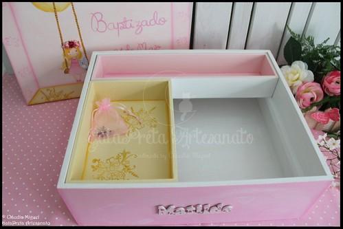 """Caixa grande de batizado, de recordações e livro de honra """"Fairy Dream"""""""