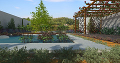 Minimalist Garden. From pergola_3