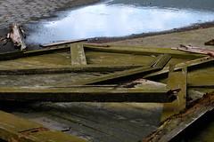 Crisis (De.Ha) Tags: wood green texture industry water colors canon eau outdoor vert normandie normandy extrieur bois industriel crise findumonde eos500d