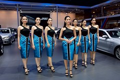 Beautiful, sexy presenters for BMW at the 37th Bangkok International Motorshow at IMPACT Challenger in Muang Thong Thani, Nonthaburi, Thailand (UweBKK ( 77 on )) Tags: auto show girls woman sexy cars beautiful beauty fashion thailand design hall women automobile asia dress bangkok sony style automotive exhibition event international thong impact bmw motor southeast 37 alpha dslr thani 77 challenger slt motorshow 37th muang nonthaburi
