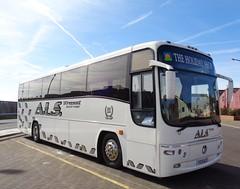 V33ALS A.L.S. Travel in Blackpool (j.a.sanderson) Tags: travel volvo coach blackpool als coaches paragon plaxton b10m62 v33als