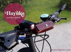 LINTERNA EN BICI (hayuko.com) Tags: handmade craft bici etsy papel bolsa crafting artesania cuero linterna personalizado artesano artesana hayuko cueroypapel hayukocom hayukocueroypapel hayukocueropapel