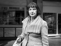 . (alb.montagna) Tags: street portrait people blackandwhite bw monochrome streetphotography olympus persone zuiko streetportraiture olympusomdem10mkii