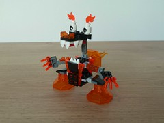 LEGO MIXELS MOC Fan Made Instructions LAVA MIXELS #3 (Totobricks) Tags: lava lego howto instructions build moc fanmade mixels legomixels totobricks lavamixels