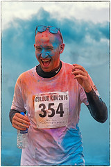 Weston Colour Run (Andy J Newman) Tags: england color colour unitedkingdom run gb runner westonsupermare colourrun