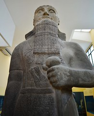 Shalmaneser III (orientalizing) Tags: sculpture statue turkey istanbul basalt archaeologicalmuseum neoassyrian assyrians archaia 858824bc kingshalmaneseriii inv4650