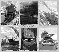 Stream 026 - Mischief thumbnails (Zhillustrator) Tags: sketch stream digitalart digitalpainting thumbnails thumbnail mischief