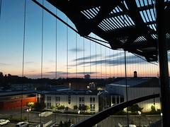 Sonnenaufgang in Frankenthal (hwl.weber) Tags: hotel dmmerung sonnenaufgang frankenthal