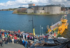 D8E_0918 Cable Ferry Vaxholm-Kastellet April 2016 (Bengt Nyman) Tags: ferry sweden stockholm cable april vaxholm 2016