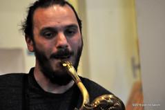 M4099428 (pierino sacchi) Tags: musica sax saxophone libreria recitazione baritono oneiros andreaferrari libreriacardano simonemocennibeck igorebulipoletti