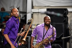 Jazz Fest - Trombone Shorty and Orleans Avenue