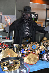 Undertaker (mouseart005) Tags: cosplay wwe wwf undertaker prowrestling championshipbelts kitchenercomiccon