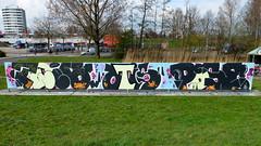 Graffiti Capelsebrug (oerendhard1) Tags: urban streetart art pose graffiti rotterdam tees chay loek capelsebrug