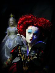 Iracebeth of Crims (Titania1989) Tags: film movie store doll alice disney queen collection carter helena queenofhearts bonham redqueen alicethroughthelookingglass iracebeth