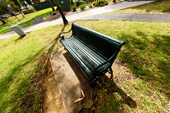 Park Bench (Jackassp) Tags: adelaide parkbench fishy sigma15mmf28exdgdiagonalfisheye nikond750