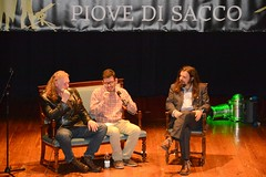 Tim Willocks, Edoardo Rialti, Matteo Strukul (Sugarpulp) Tags: festival romanzostorico piovedisacco chronicae sugarpupl