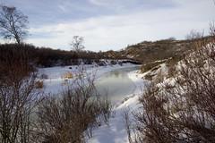 Early spring melt on Beaver Creek (Jim 03) Tags: grass creek river centre conservation jim beaver valley short 1984 area prairie saskatchewan meewasin 1979 sites microcosm interpretive uncultivated jimhoffman jhoffman jim03 wwwflickrcomphotosjhoffman2013 wwwjimahoffmancom