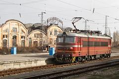 BDZ 44 094, Sofia 2013-02-03 (Michael Erhardsson) Tags: station train europa sofia central bulgaria resa lok tg bulgarien jrnvg 2013 bdz ellok