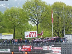 008 (torsten.bunde) Tags: red white boys schweiz tessin super di thun fc teste lugano league matte deutsch stadio ultras italienisch cornaredo