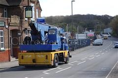 Albion LAD Hydrocon crane, Gallows Inn, Ilkeston (Lady Wulfrun) Tags: crane cab lad albion talisman hydrocon tvp339h