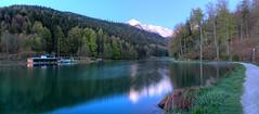Zugspitze im ersten Licht (Alexander Burkhardt) Tags: berg bayern see wasser alpen wald garmischpartenkirchen zugspitze lanschaft