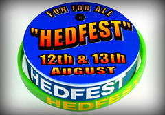 HedFest - Badge and wristbands (Ray Duffill) Tags: festival badge wristband hedon hedfest16