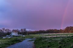 Clarendon Rainbow (Gerry Lynch) Tags: england rainbow unitedkingdom gb salisbury wiltshire clarendonpalace