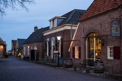Evening in Bronkhorst (romanboed) Tags: christmas street leica blue holland netherlands dutch rural evening community village m hour 50 summilux nightfall 240 gelderland bronkhorst