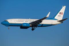 United States Air Force C-40C 09-0540 (jochem.jottier) Tags: dod usaf bru b737 ebbr c40 090540