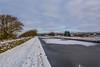 DSC_0007 - Another snowy Mile (SWJuk) Tags: uk winter england snow cold ice home clouds landscape canal frozen nikon unitedkingdom britain outdoor lancashire gb towpath lightroom burnley leedsliverpoolcanal 2016 18300mm icebound d7100 rawnef swjuk nikond7100 jan2016