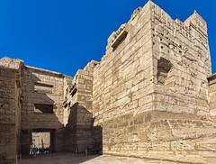 Migdol Gate, Medinet Habu, Egypt (bfryxell) Tags: egypt luxor thebes medinethabu mortuarytempleoframsesiii necropolisofthebes migdolentrance