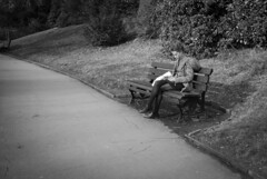 Solitude (Alexander Jones - Documentary Photography) Tags: street england white black west monochrome photography nikon bath candid south north documentary somerset east moment decisive d3000